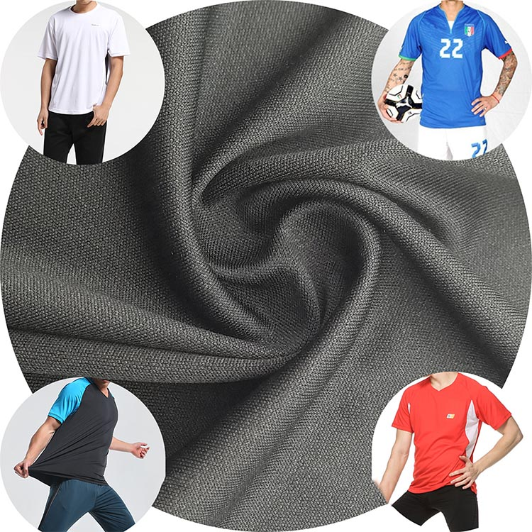knit bamboo jersey fabric bamboo charcoal fiber fabric for t-shirt